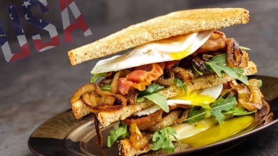 pan alemán sandwich